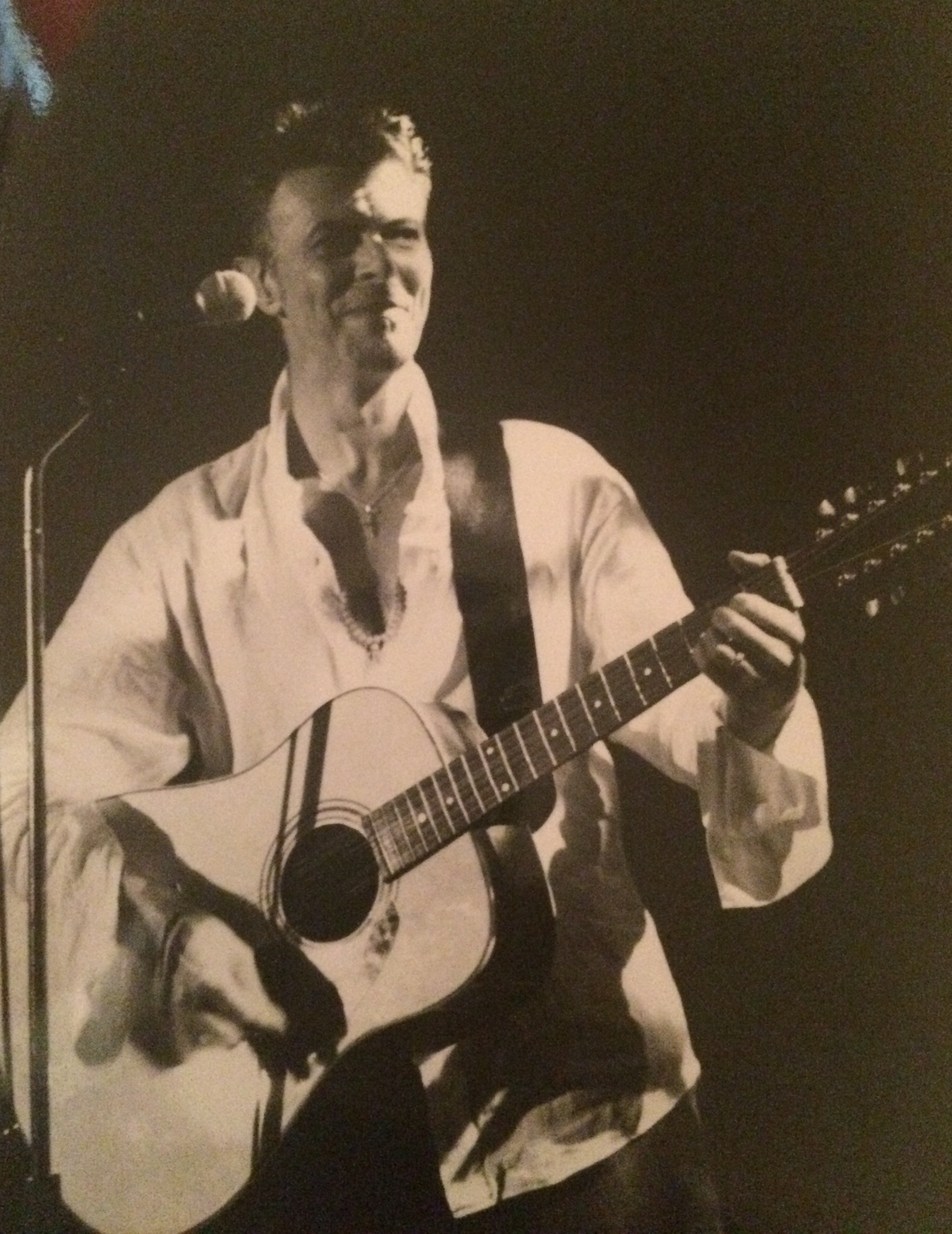 David Bowie by Kelley Curtis Chili Pepper3 10-7-97