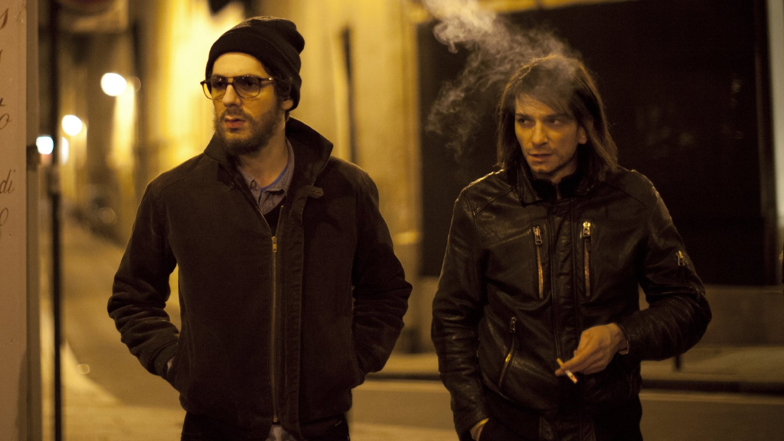 Vincent Lacoste and Arnaud Azoulay in Eden